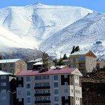 Erzurum'da hava sıcaklığı eksi 5