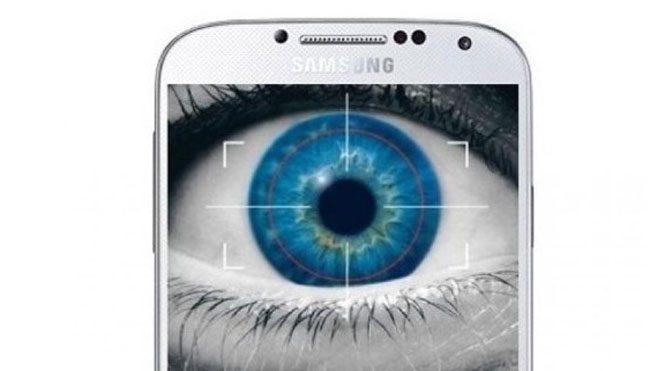 Galaxy S6 gözünüzü tarayacak