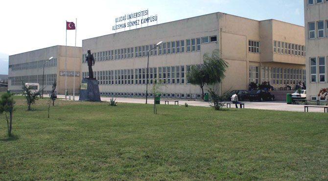 Uludağ Üniversitesi'nde gerginlik