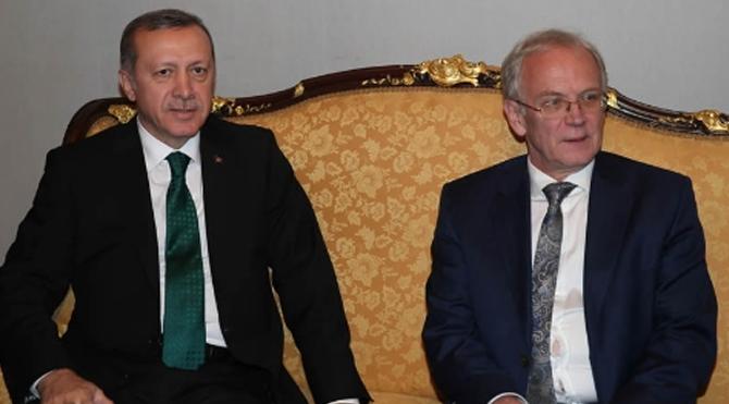 Erdoğan Estonya Parlamentosu'nda!