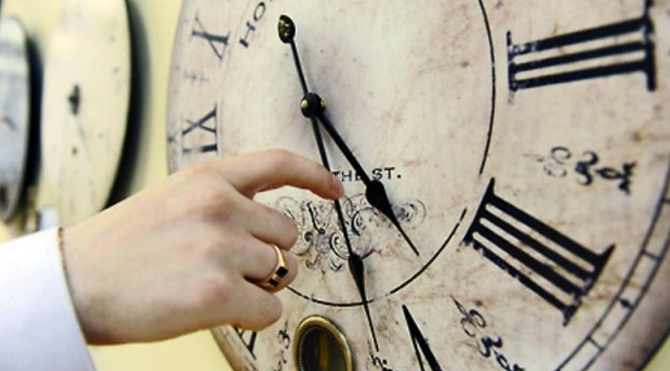 Saatleri siz geri almayın!