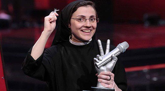 Rahibeye Madonna'dan destek