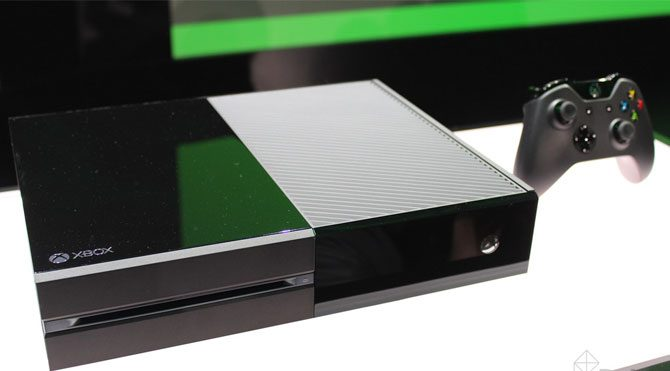Xbox One için dev güncelleme