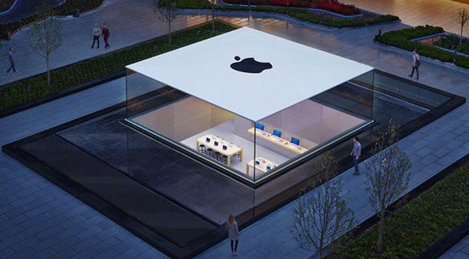 Apple ikinci mağazasını açıyor