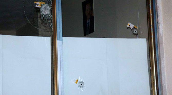 AKP binasına ateş açıldı