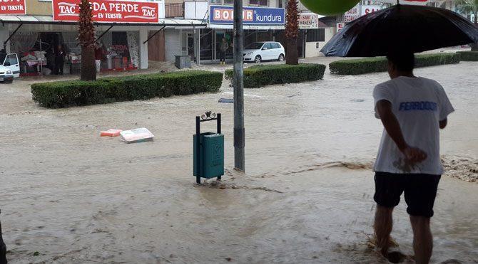 Antalya'da yağmur alarmı!
