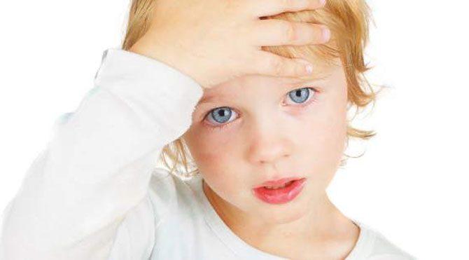 Çocuklarda da migren var