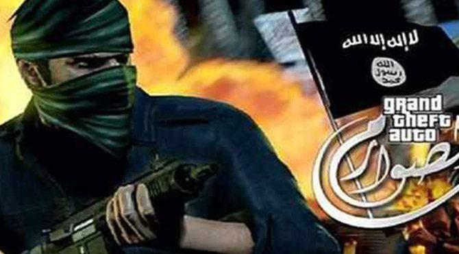 IŞİD'den bilgisayar oyunu fragmanı