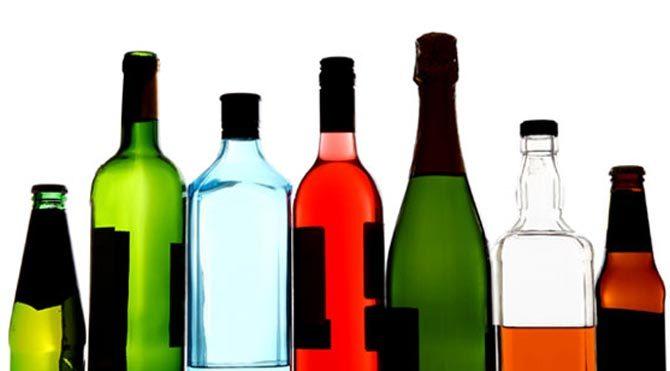 Alkollü içkilere cam ayarı