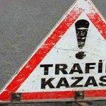 Bilecik'te trafik kazası