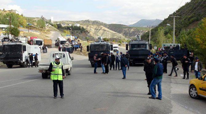 Tunceli'ye giriş ve çıkışlar yasaklandı