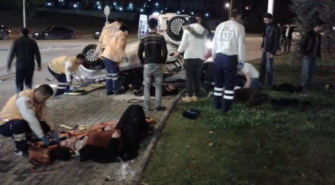 Ankara'da kaza: 6 öğrenci yaralandı