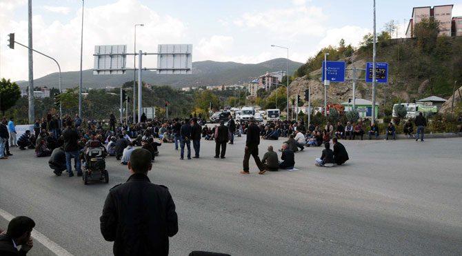 """""""PKK mezarlığı"""" gerginliği bitti"""