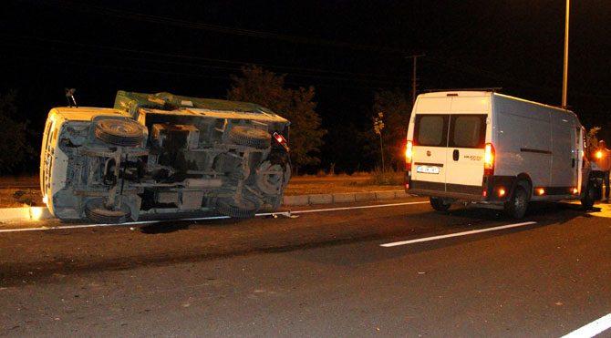 Elazığ'da trafik kazası: Yaralılar var!