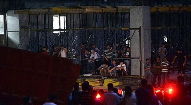 Rezidans inşaatından düşen işçi öldü