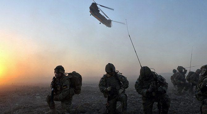 İngiltere, Afganistan'dan çekildi