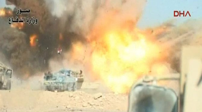 IŞİD'den bomba yüklü araçla intihar saldırısı