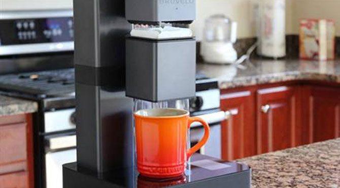 Akıllı kahve makinesi geliştirildi