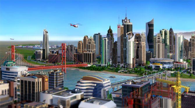 SimCity BuildIt mobilde!