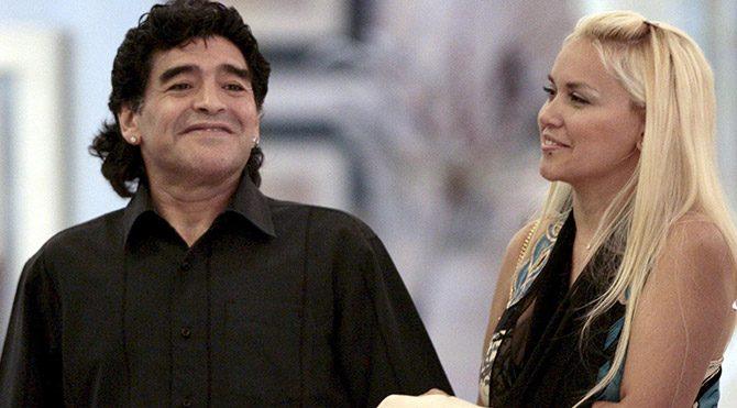 Maradona'dan sevgilisine dayak