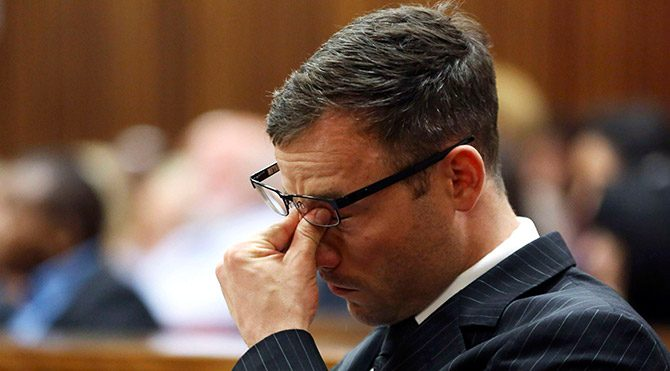 """""""O gece Pistorius'tan ayrılacaktı"""""""