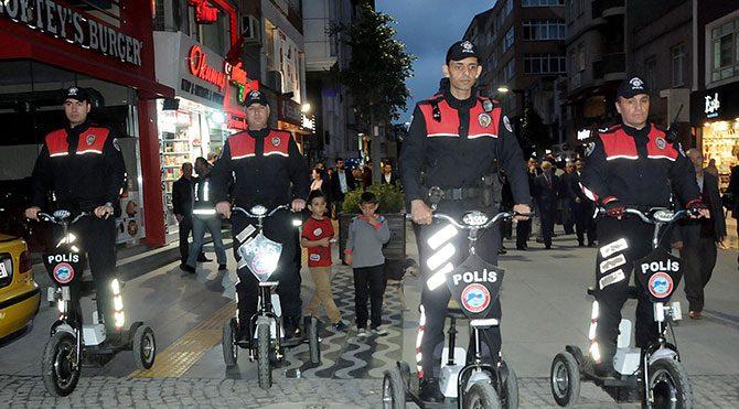 Samsun'da polis Ginger'landı