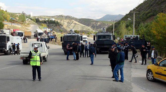 Tunceli'ye giriş çıkış yasaklandı