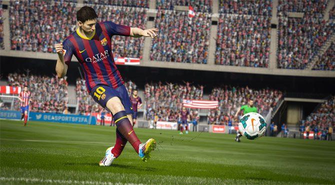 FIFA 15 zirveyi kaptırmıyor