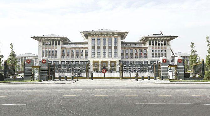Erdoğan'ın Ak Sarayı 5 saraya bedel