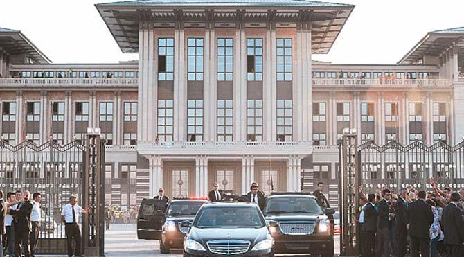 Tayyip'in yeni sarayı