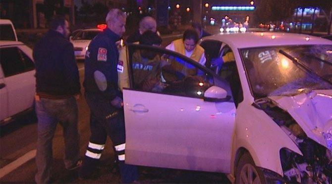 Ankara'da kaza: Askeri pilot yaralandı
