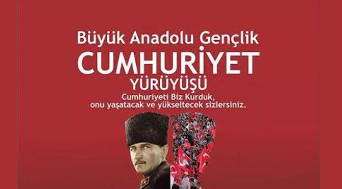 CHP Gençliğinden 29 Ekim kutlaması
