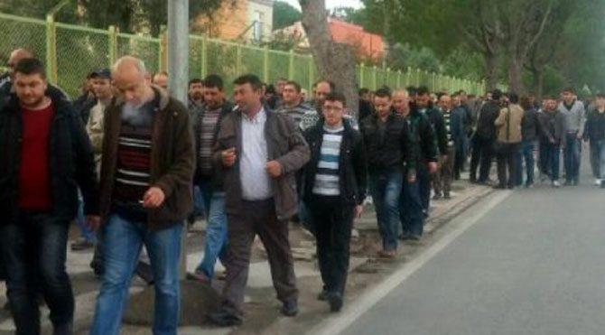 Soma madencisi Ankara'ya yürüyor