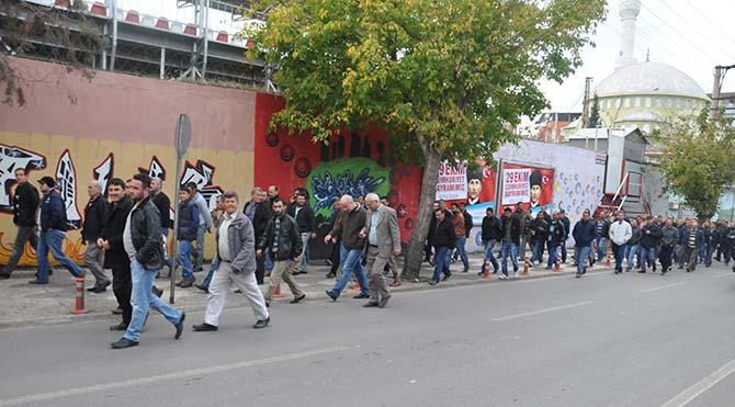 Soma işçileri Ermenek'e gidiyor