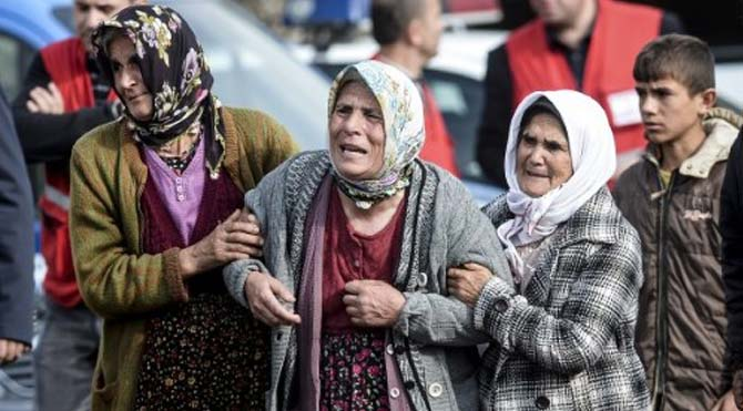 Karaman'da acı bekleyiş