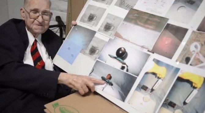 'Uzaylıların' fotoğraflarını yayınladı