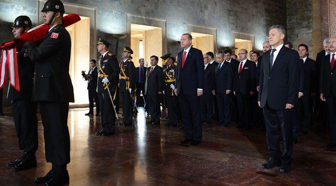 Anıtkabir özel defterinde Atatürk yok