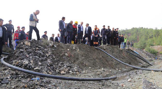 Madene yardıma giden Ahtapot devrildi!