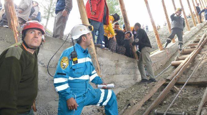Savcılar madende