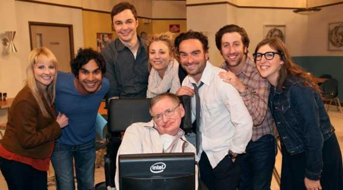 Stephen Hawking oyuncu oldu