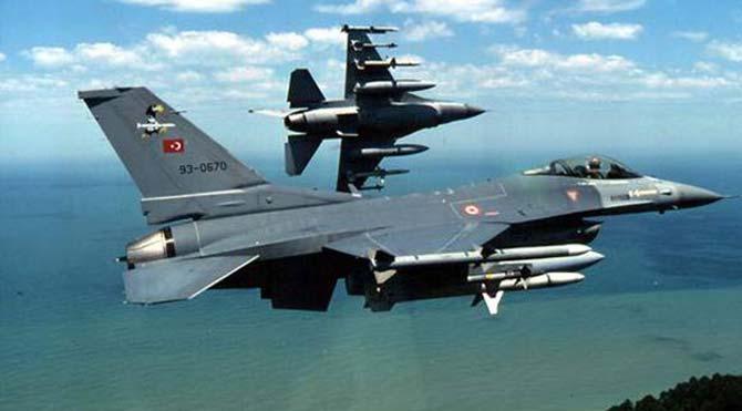 Türk jetleri Ruslara karşı havalandı