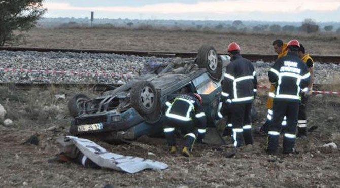Otomobili metrelerce sürükledi: 2 ölü