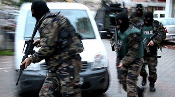 İstanbul'da terör örgütüne yönelik operasyon!