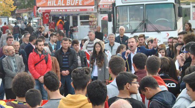 CHP Gençliği Anadolu'yu salladı