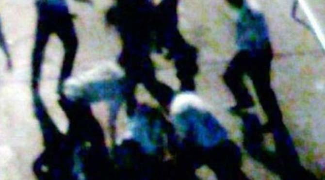 Dayakçı polislere ceza
