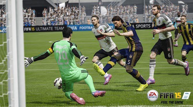 FIFA 2015'ten derbiye özel görsel