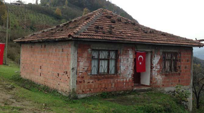 Şehidin baba evi