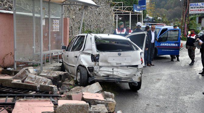 Zonguldak'ta feci kaza