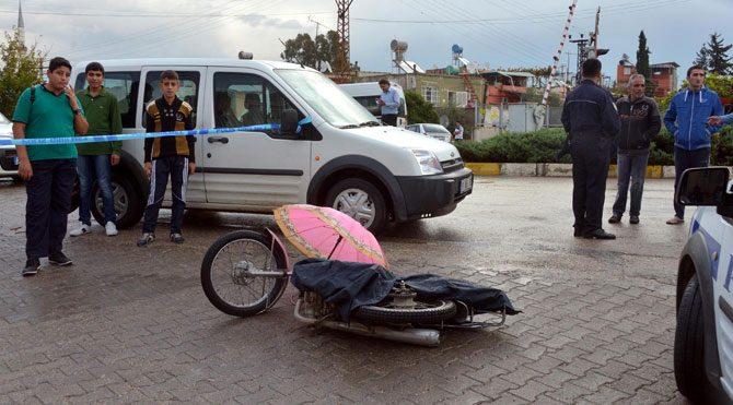 Kadın kılığına girdi adam vurdu!