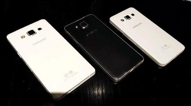 Samsung'dan Galaxy A5 ve A3